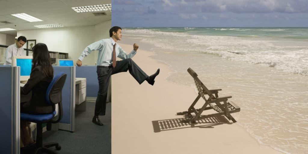 come staccare dal lavoro